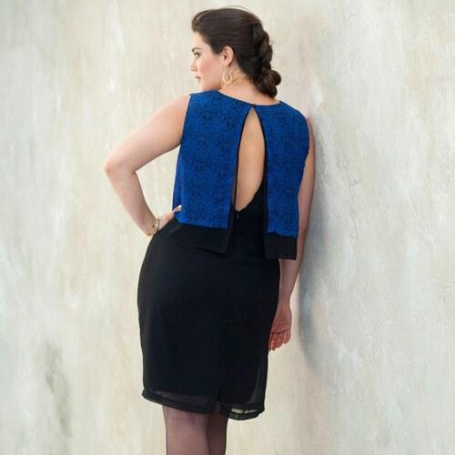 Blancheporte Šaty bez rukávov modrá tmavá - Glami.sk e3353bbb7fa