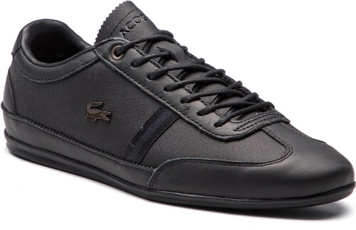 282079ccfa17c Sneakersy LACOSTE - Misano 318 1 Cam 7-36CAM005602H Blk/Blk - Glami.sk