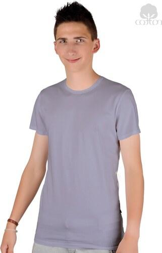 deaeea505fc7 Pánske jednofarebné tričko s krátkym rukávom 04 Hotberg - Glami.sk