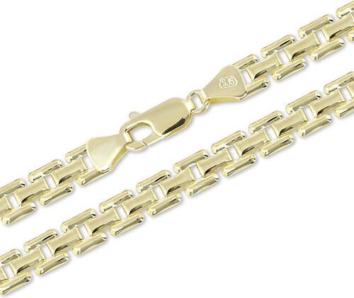 cdddfc73c Brilio Luxusní zlatý řetízek 45 cm 271 115 00307 - 13,20 g - Glami.cz