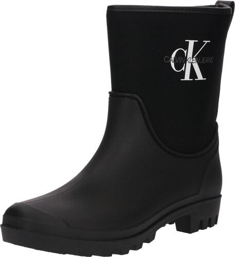 6366cac5b6 Calvin Klein Jeans Gumáky  PHILIPPA  čierna - Glami.sk