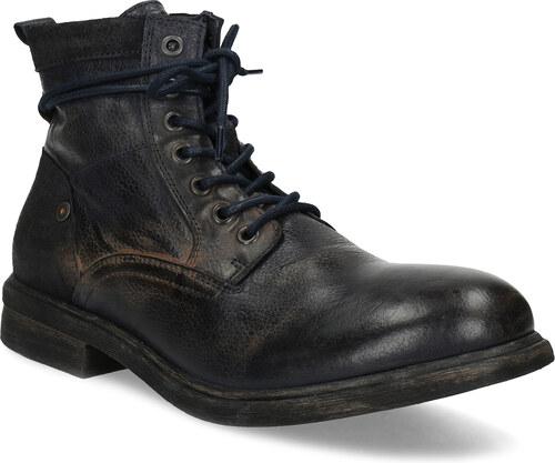 Baťa Pánská kožená kotníčková obuv - Glami.cz c94a71874a