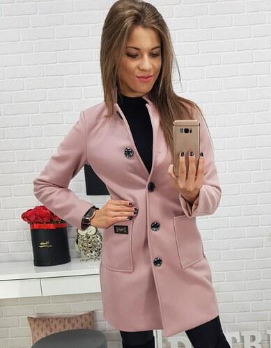 Brand Dámsky kabát rúžový (ny0170) ny0170 - Glami.sk 580ac4cf866