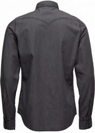 Pánská šedá džínová košile Diesel NEW-SONORA-E - Glami.cz 3382a5c40d