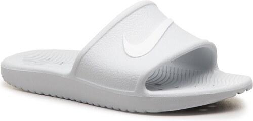Šľapky NIKE - Kawa Shower 832655 010 Pure Platinum White - Glami.sk 3efe673ea0a