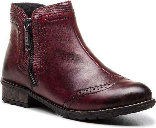 40c97c17199d Členková obuv RIEKER - Y3361-35 Rot - Glami.sk