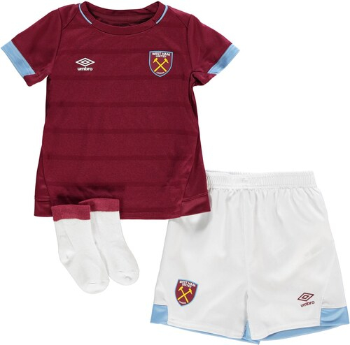 06ecfc9cdf58 Detské oblečenie Umbro West Ham United Home Baby Kit 2018 2019 ...