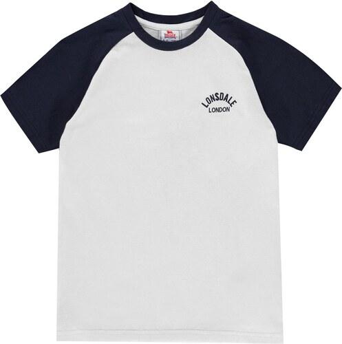 7be24cc42 Majica kratkih rukava Lonsdale Raglan T Shirt Junior Boys - Glami.hr