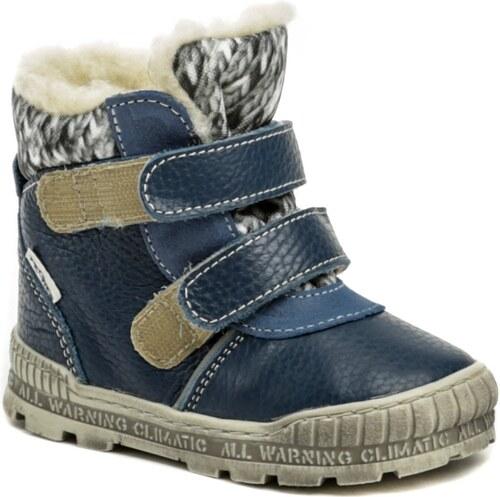 d2ac0b029d886 Pegres 1702 modrá detská zimná obuv - Glami.sk