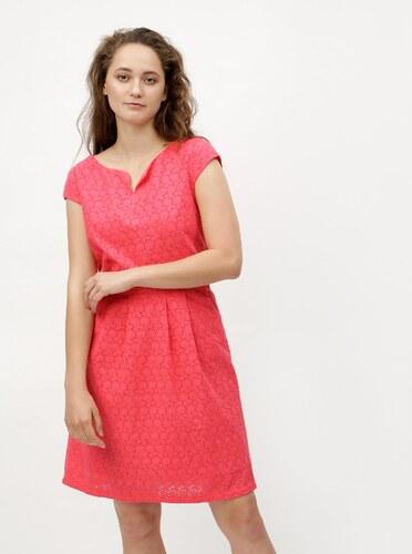 64d58a4da5a8 Ružové šaty s vyšívaným vzorom s.Oliver - Glami.sk