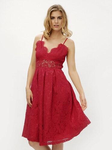 46cce9870d91 Červené čipkované šaty MISSGUIDED - Glami.sk