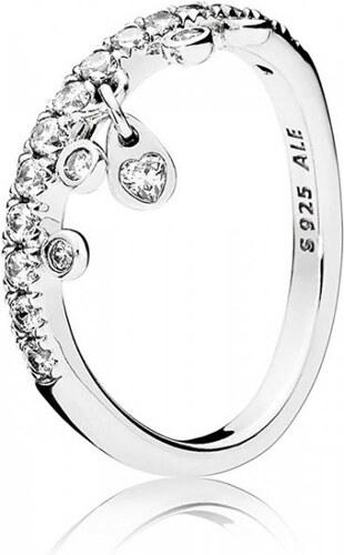 Pandora Třpytivý stříbrný prsten 197108CZ (Obvod 50 mm) stříbro 925 1000 837ad02bdbb