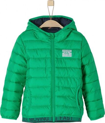 s.Oliver chlapecká bunda 128 zelená - Glami.cz 7f2f68784e