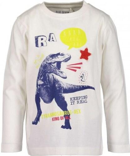Blue Seven chlapecké tričko s dinosaurem 110 bílá - Glami.cz 6cea018c30