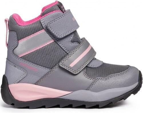 Geox dívčí zimní boty Orizont 34 šedá - Glami.cz 3605bcabfd