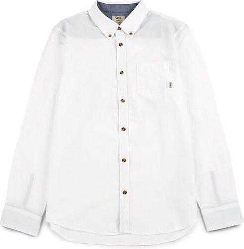 Vans Pánská košile Houser Ls White V000MZWHT (Velikost M) - Glami.cz 40837cea1f