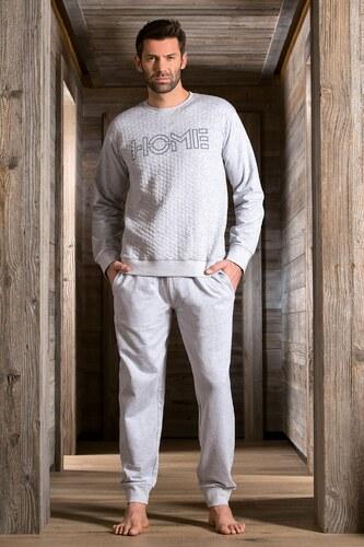 DODO Raphael férfi pizsama melange - Glami.hu 0b880ba15d
