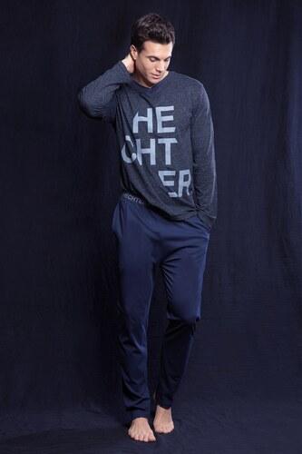 HECHTER Fusio férfi pizsama szürkéskék - Glami.hu a109323ec3