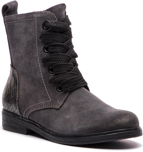 c07dba769b53 Členková obuv MARCO TOZZI - 2-25236-21 Dk.Grey Comb 225 - Glami.sk