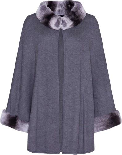 1f22f6a09b4 Dámský kožešinový kabát Luta (484105UNI) Kara - Glami.cz