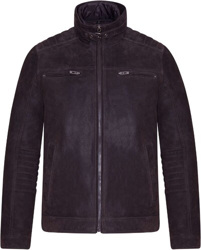 Pánská zateplená kožená bunda (57427252) Kara - Glami.cz e855913ddd2