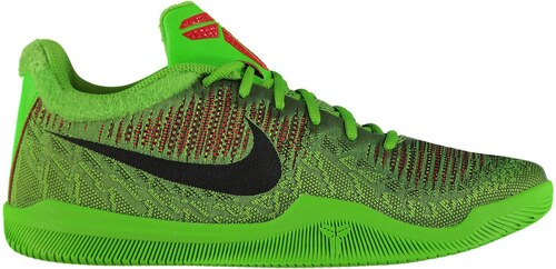 promo code 9fe51 1c697 Nike Mamba Rage Basketball Trainers Mens Green Black