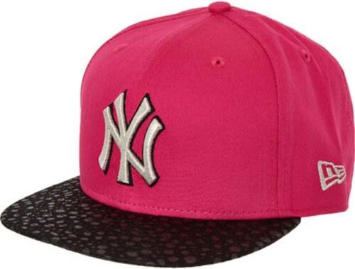 74b687d9d77 NEW ERA Dámská Kšiltovka - NY Yankees Snapback 9FIFTY růžová černá ...