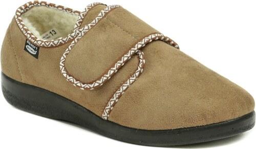 5a2fde6841 Rogallo 4340-004 béžové dámske zimné papuče - Glami.sk