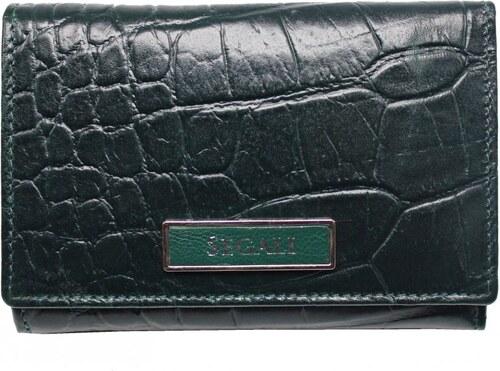 200bfef060 SEGALI Dámska kožená peňaženka 910199510 červená - Glami.sk