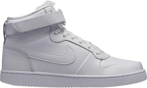 94f43c163e Nike Ebernon Mid Premium Ladies Trainers White/White - Glami.sk