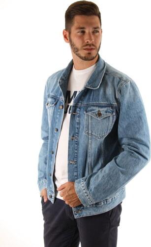 4948eed010 Tommy Hilfiger pánska modrá džínsová bunda - Glami.sk