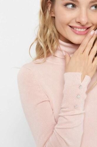 ORSAY Rolákový pulovr se stříbrnými knoflíky - Glami.cz 9ab286b768
