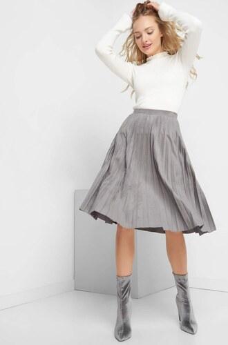0154db212bae ORSAY Plisovaná sukňa z eko-semišu - Glami.sk