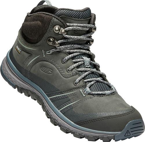 4efb8a86d5 -34% KEEN Dámske topánky Terradora Leather Mid WP Tarragon Turbolence
