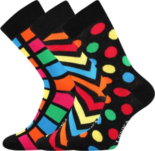 8da4590fd24 Lonka Barevné ponožky Woodoo mix H pánské ponožky barevné - Glami.cz