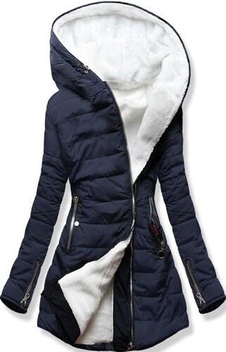 MODOVO Női téli kabát kapucnival M13 sötétkék - Glami.hu d409493414