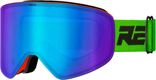 abacc639c RELAX X-FIGHTER Lyžiarske okuliare HTG59A zeleno - červená - Glami.sk