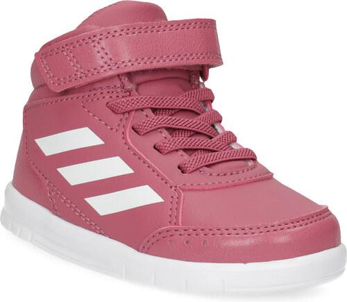 Adidas Růžové kotníčkové dětské tenisky - Glami.cz 73b4ce472c