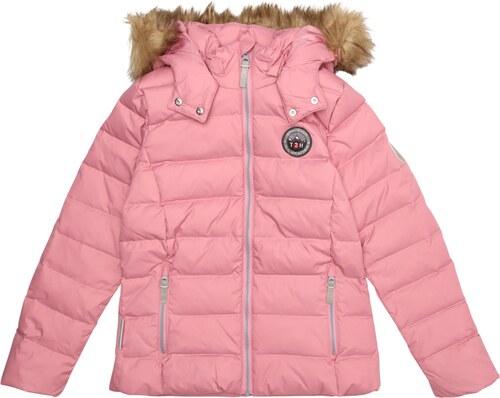 TICKET TO HEAVEN Zimní bunda růžová - Glami.cz 29e477afb25