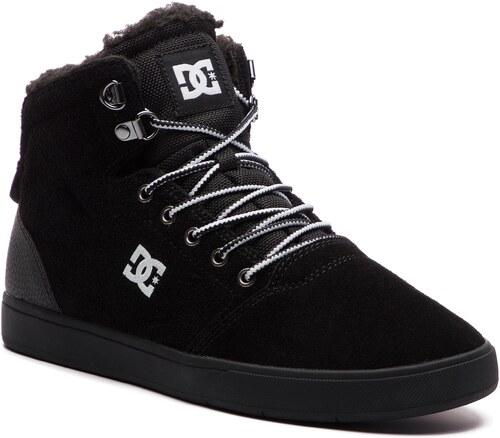 9208992553dec Sneakersy DC - Crisis High Wnt ADYS100116 Black/White/Black (BWB ...