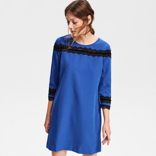 Reserved - Csipkés díszítésű ruha - Kék - Glami.hu b15ff1d37b