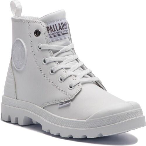 Bakancs PALLADIUM - Pampa Hi Zip Pony Pr 75984-101-M White White ... 391185b626