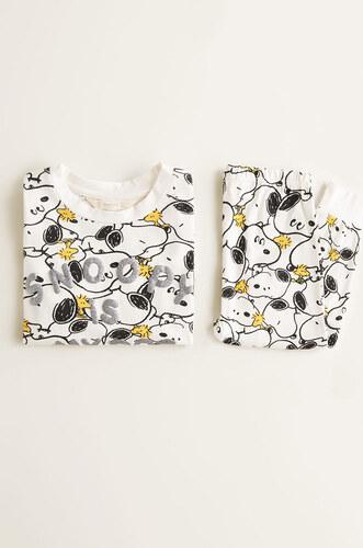 Mango Kids - Gyerek pizsama Snoopy 110-164 cm - Glami.hu 4fb2b56cdb