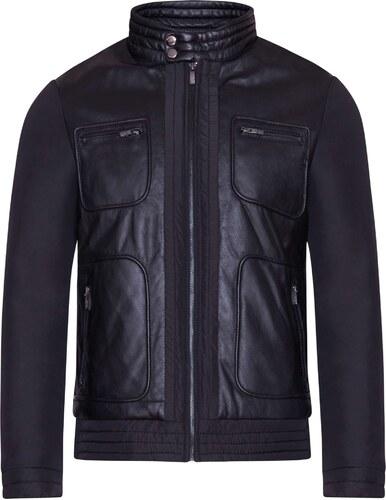 Pánska kožená bunda Jason (50609150) Kara - Glami.sk c064e6a13d5