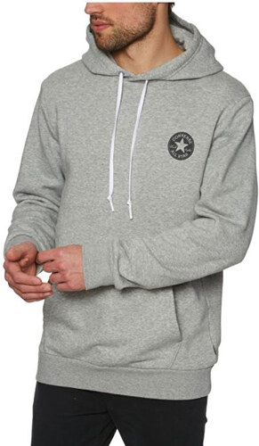 768f722c3f0 Converse Pánská mikina Chuck Taylor Graphic Pullover Hoodie Grey ...