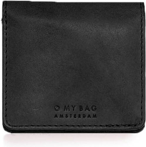 a8123382035 O My Bag Malá peněženka Alex Foldover - černá - Glami.cz