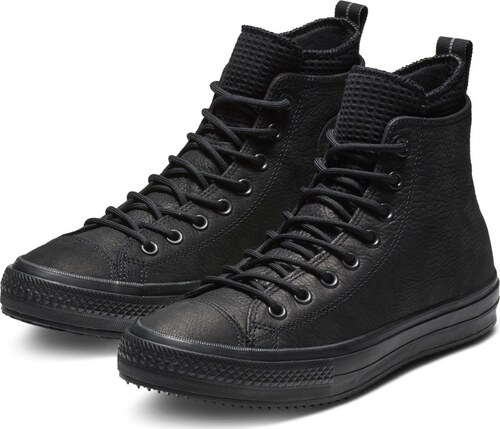 -5% Converse černé kožené pánské tenisky Chuck Taylor All Star Hi Black - 44 64bc4b5a39f
