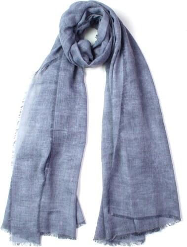 -13% Fraas pastelově modrý šátek jednobarevný 190 90 0a9c20f8c8