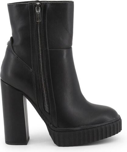 0898d827e2d8 Kotníkové topánky Guess FLGIO4ELE10 BLACK - Glami.sk