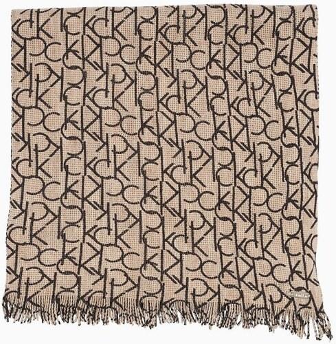 Calvin Klein dámská šála CK monogram - Glami.cz 7a52f9863e